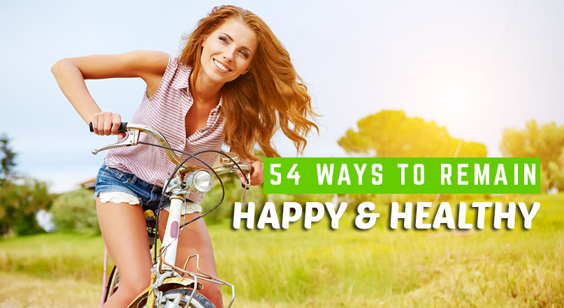 54 Ways to Remain Happy & Healthy by Garage Gym Planner