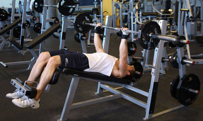 Decline Bench Press incorporates Lower Pectoral Stimulation