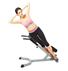 Roman Chair Exercises Get Your Abs In Killer Shape