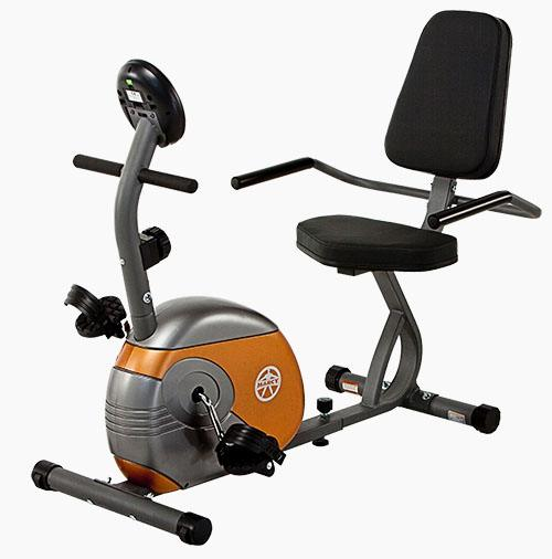 Marcy ME709 Recumbent Mag Cycle Bike Review by Garage Gym