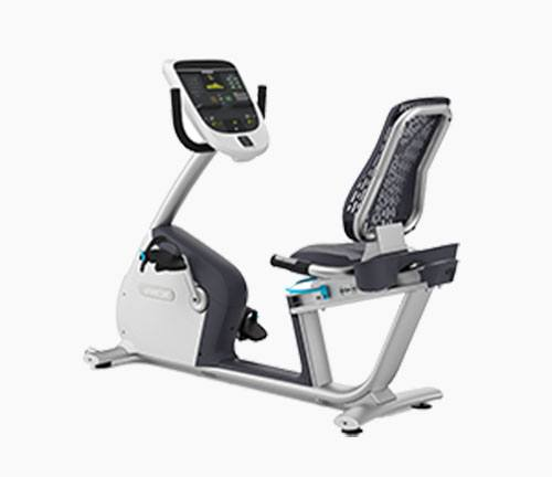 Precor RBK 835 Recumbent Exercise Bike Review by Garage Gym