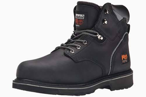 Timberland PRO Men's Pitboss 6″ Steel-Toe Boot Review by Garage Gym