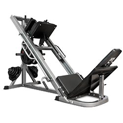 home with leg press machine