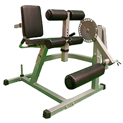 Pro Heavy Duty Seated Leg Curl & Extension Machine by XS Sports