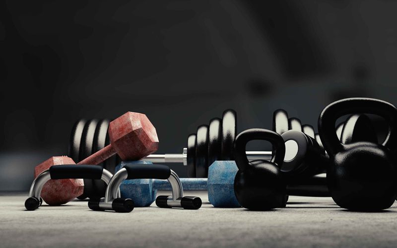 Get fit at home build your ultimate garage gym