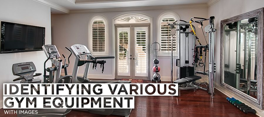 Identifying various gym equipment with images ggp