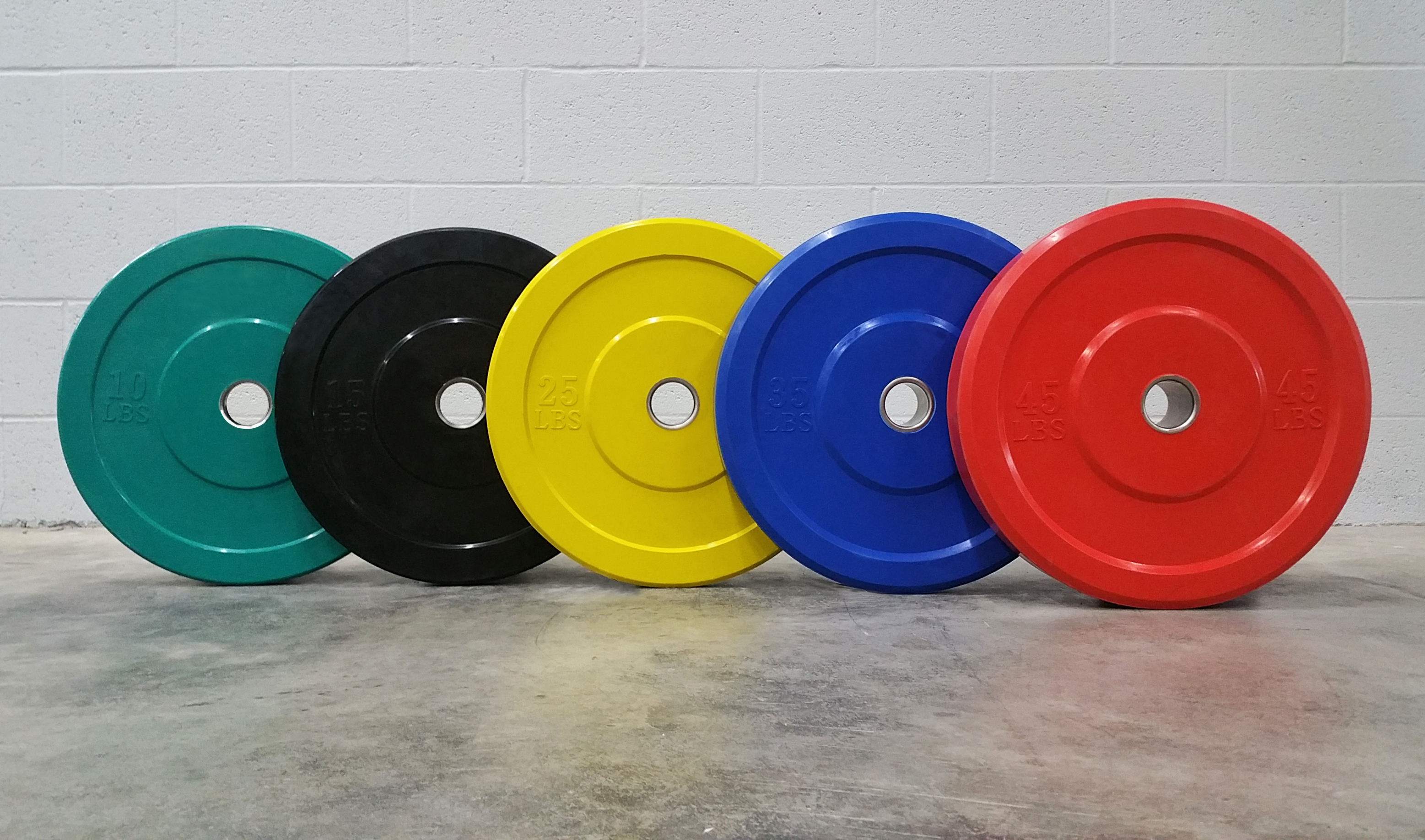 Basic color bumper plates garage gym planner best home