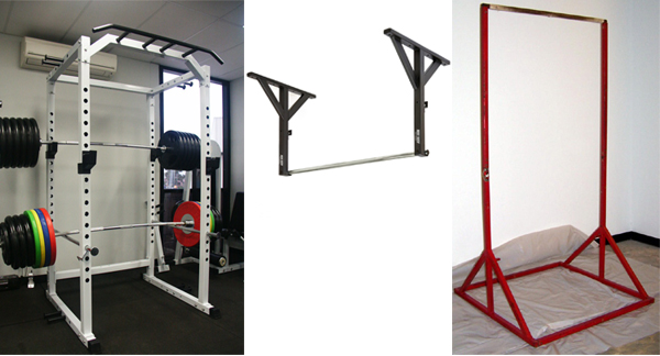 Pull up bar power rack garage gym planner best home