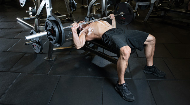 Chest workout bench press_1