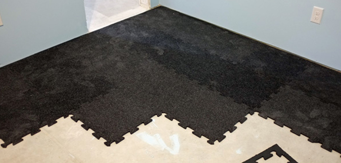 Ground Your Routine In Quality Home Gym Flooring Reviews - Padded garage floor mats