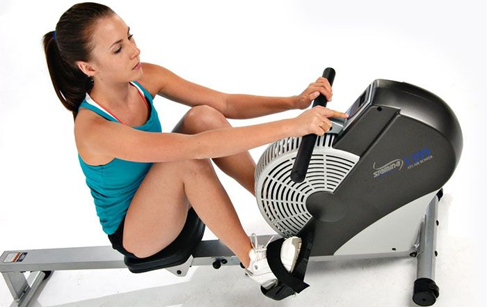 Stamina Air Rower Rowing Machine Review by Garage Gym