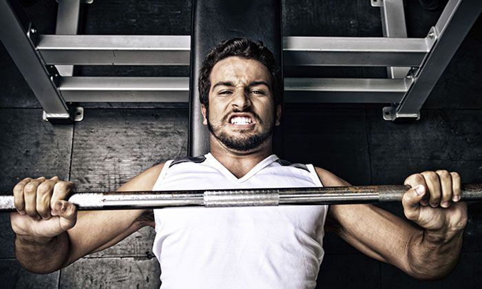 Bench Press helps you to get stronger by Garage Gym