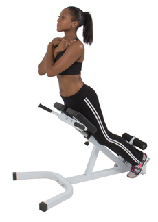 Roman Chair Hyperextension Workout is a Unique Movement which Strengthens your Back