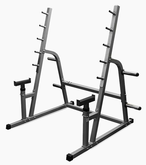Valor Athletics BD-6 Safety Squat / Bench Combo Rack by Garage Gym