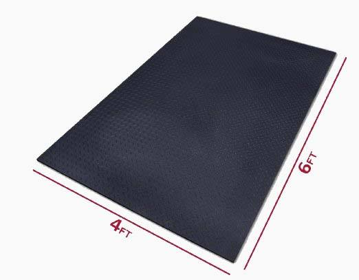 XMark Fitness Ultra Thick Gym Flooring Review by Garage Gym