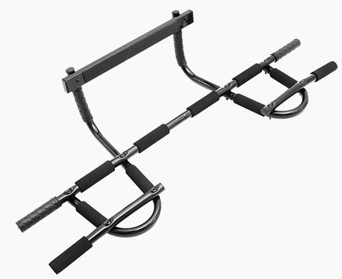 ProSource Heavy-Duty Easy Gym Doorway Chin-Up/Pull-Up Bar by garage gym