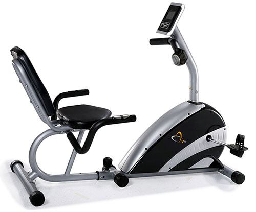Recumbent stationary exercise bike review by Garage Gym