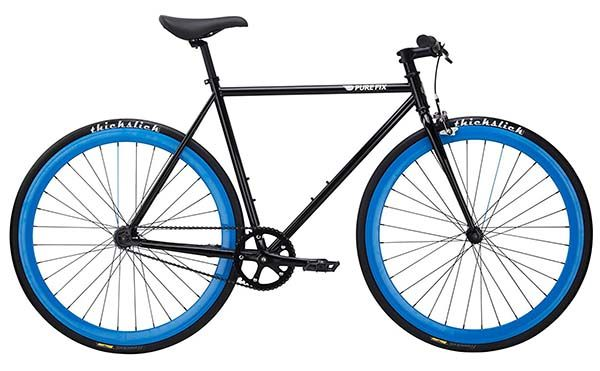 Pure Fix Original Fixed Gear Single Speed Fixie Bike Review By Garage Gym
