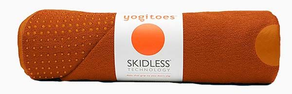 Yogitoes Skidless Yoga Mat Towel Review by Garage Gym