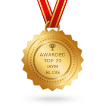 Awarded Top 20 GYM blog