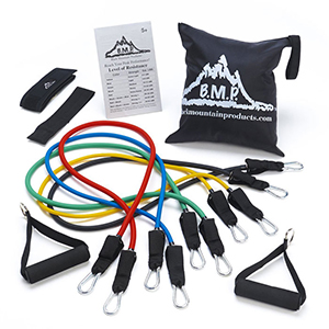 Black Mountain Products Resistance Band Set.
