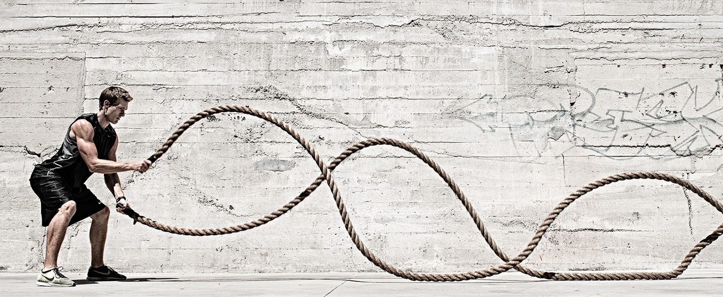 how to use battle ropes-to tone up your body