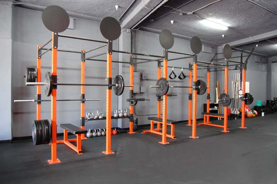 Rig example from Diamond fitness systems