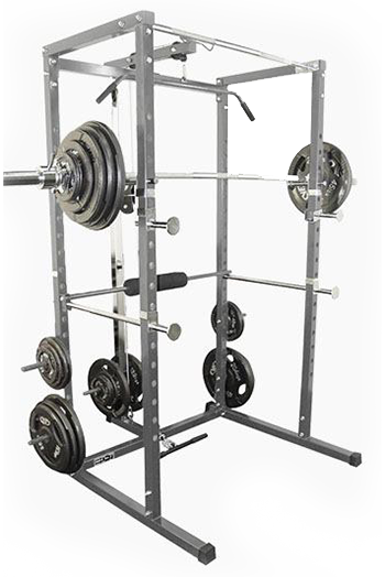 Valor Athletics Inc. BD – 7 Power Rack With Lat Pull