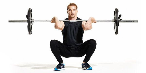 6. How to do barbell squats