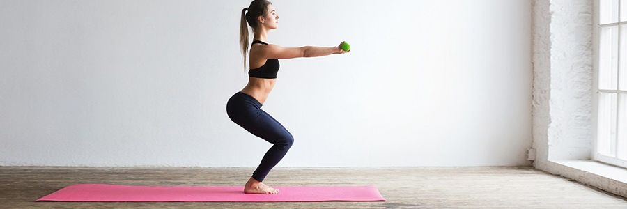 How to do squat exercise at home