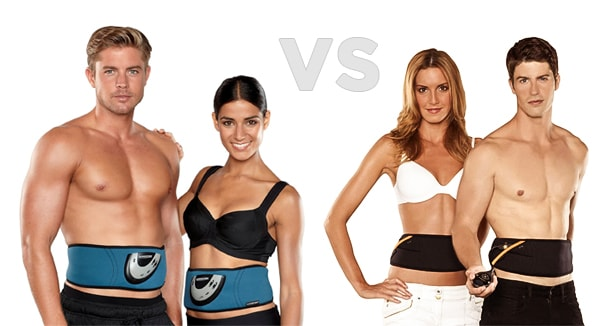 Slendertone vs Flex Belt