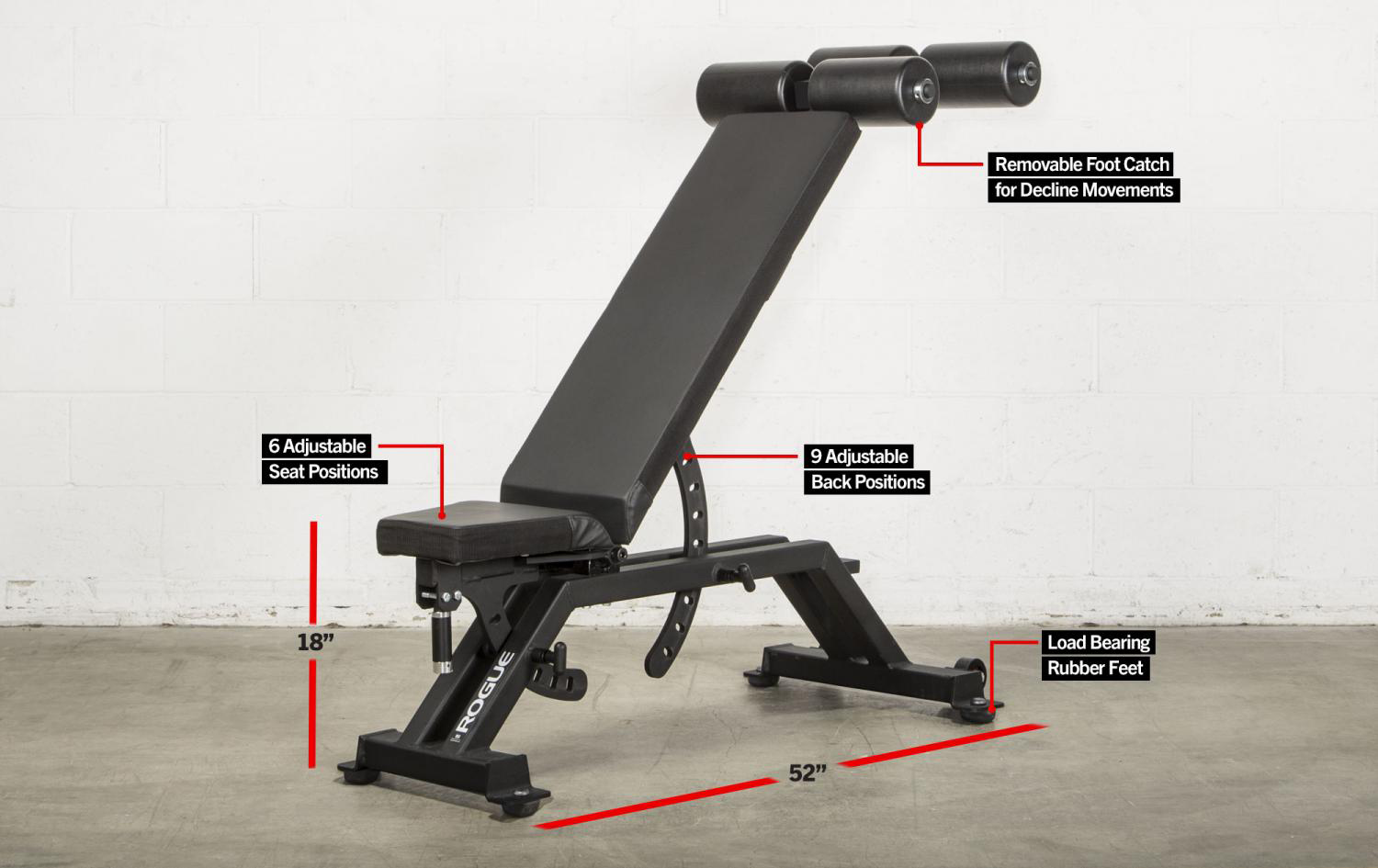 Rogue AB-3 Adjustable Bench