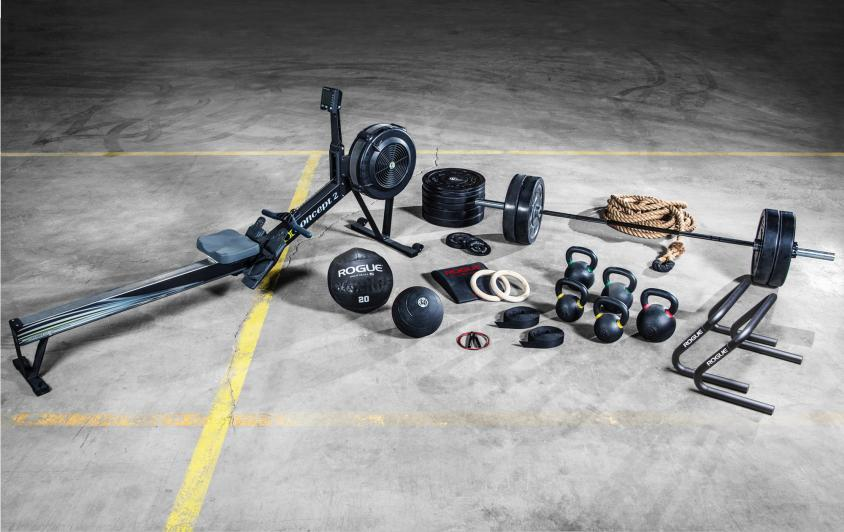 Crossfit equipments for your garage gym and are