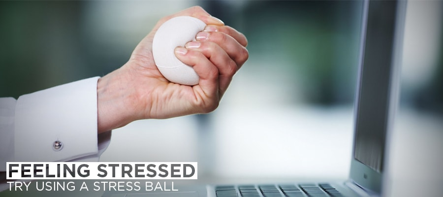 Feeling Stressed Try Using a Stress Ball