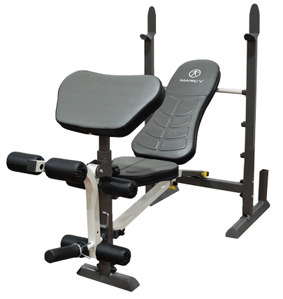 Marcy Leg Extension & Curl Bench