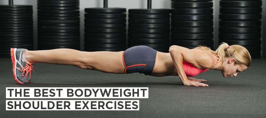 The Best Bodyweight Shoulder Exercises