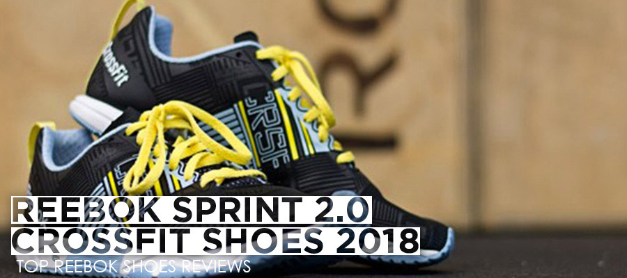Reebok Sprint 2.0 CrossFit Training shoe Review